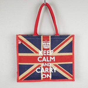 Great Britain Flag Tote Size M